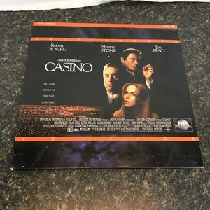 Casino Laserdisc Letterboxed Edition